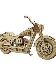 cheap -Jigsaw Puzzles 3D Puzzles Building Blocks DIY Toys Motorcycle Wood Model & Building Toy