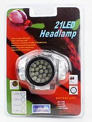 Lampes Frontales Phare LED lm 1 Mode LED Transport Facile pour Camping/Randonnée/Spéléologie Usage quotidien Cyclisme Chasse Escalade