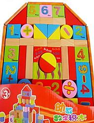 economico -Costruzioni per il regalo Costruzioni Legno Da 2 a 4 anni Da 5 a 7 anni Giocattoli