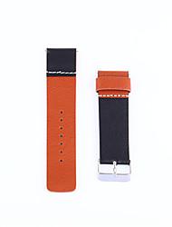 economico -Per la cintura di rimontaggio del polso del braccialetto della fascia del cuoio genuino della vigilanza astuta del wig del fitbit