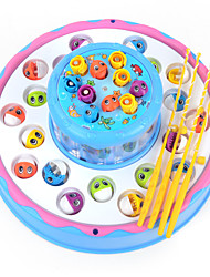 cheap -Fishing Toys Toys Circular Large Size Electric Plastic Children's Pieces