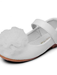 Girls' Flats Comfort Flower Girl Shoes Leatherette Spring Fall Wedding Outdoor Office & Career Party & Evening Dress CasualApplique Magic