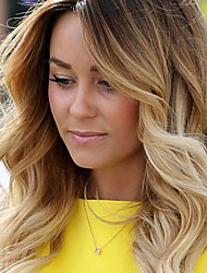Ombre Color Brazilian Virgin Hair Lace Wigs Body Wave Lace Front Human Hair Wigs Virgin Hair Wig with Baby Hair