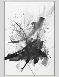 Недорогие -С картинкой Растянутый холст - Абстракция Изысканный и современный