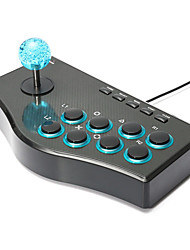 USB Rocker Game Controller Fighting Stick Arcade Joystick Gamepad For PS3/PC