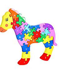 economico -Puzzle Kit fai-da-te Costruzioni Giocattoli fai da te Cavallo