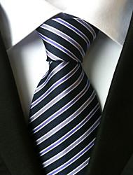Недорогие -мужская мода все polyster necktieneckwear полосатые все сезоны