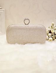 preiswerte -Damen Taschen PU Abendtasche für Veranstaltung / Fest Klub Party & Festivität Ganzjährig Champagner Gold Schwarz Silber
