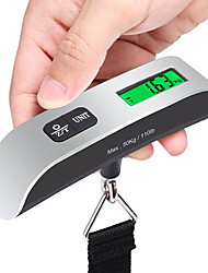 Stainless Steel Rubber Travel Luggage Scale Portable Luggage Accessory Multi-function