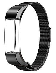 cheap -For Fitbit Alta / Fitbit Alta HR Watch Band Milanese Loop Stainless Steel Replacement Bracelet Smart Watch Strap