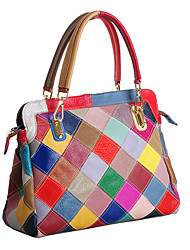 cheap -Women's Women Bags Summer Cowhide for Casual Rainbow