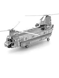 Недорогие -3D пазлы Металлические пазлы Вертолет Веселье Металл Классика Детские Универсальные Игрушки Подарок