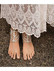 cheap -Women's Anklet/Bracelet Imitation Pearl Rhinestone Alloy Handmade Fashion Drop Jewelry For Daily Casual 1 pcs