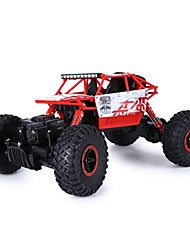 abordables -Coche de radiocontrol  HUANGBOTOYS HB-P1801 2ch 2.4G Coche Off Road Car Alta Velocidad 4WD Drift Car Buggy Escalada de coches 1:18 Brush