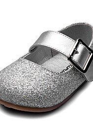Girls' Flats Comfort Flower Girl Shoes Leatherette Spring Fall Wedding Casual Party & Evening Dress Comfort Flower Girl Shoes Magic Tape