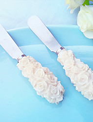 Resin Rose Design Butter Spreader DIY Wedding Favor Beter Gifts® Party Supplies