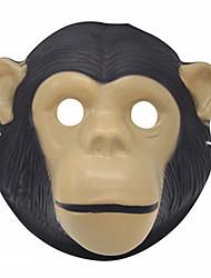 Недорогие -Маски на Хэллоуин Животная маска Игрушки Обезьяна Ужасы Куски Универсальные Подарок