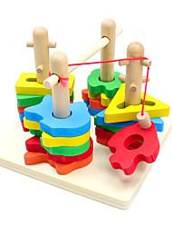 Costruzioni Puzzle Puzzle di legno Giocattoli di pesca Giocattoli Prodotti per pesci Per bambini Pezzi