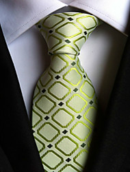 cheap -Men's Neckwear Necktie - Houndstooth