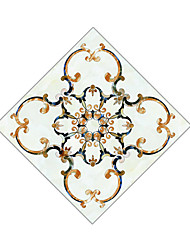 cheap -National Flower Tile Diagonal Paste Decorative Pattern Sticking Decorative Pvc Of The Bedroom And The Living Room