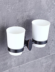 cheap -Toothbrush Holder High Quality Neoclassical Metal 1 pc - Hotel bath Wall Mounted