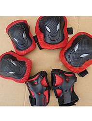 Adult Protective Gear Knee Pads + Elbow Pads + Wrist Pads for Cycling Ice Skating Skateboarding Inline Skates Shock Proof Scratch Proof