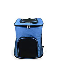Chat Chien Sac de transport Dog Paquet Animaux de Compagnie Transporteur Portable Couleur Pleine Vert Bleu