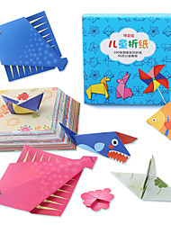 cheap -Paper Model Toys Square Paper Pieces Children's Gift
