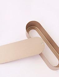 1piece / Set Kuchenformen Oval Other MetallischKinder Multi-Funktion nicht-haftend Backen-Werkzeug Multifunktion Kreative Küche Gadget