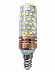cheap -15W 700-800lm E14 LED Corn Lights T 78 LED Beads SMD 2835 Warm White / White 220V