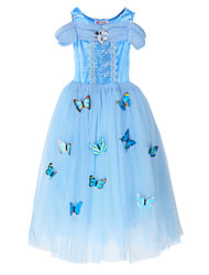 cheap -Princess Fairytale Cosplay Costumes Party Costume Kid Christmas Halloween Carnival Children's Day New Year Festival / Holiday Halloween