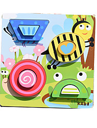 cheap -Toy Cars Building Blocks Jigsaw Puzzle Pegged Puzzles Educational Toy Animals Square Children's Gift