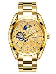baratos -Homens relógio mecânico Relógio Esqueleto Relógio de Moda Relógio Esportivo Chinês Automático - da corda automáticamente Calendário