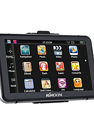 KKmoon 7 HD Touch Screen Portable GPS Navigator 128MB RAM 4GB ROM FM MP3 Video Play Bluetooth Car Entertainment System with Handwriting Pen Free Map