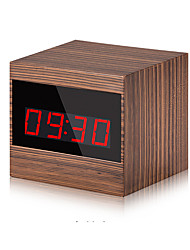 1,3 mp clock model 120 grader hd wifi ip ir nattesyn mini kamera dvr kamera støtte til iOS android fjernbetjening