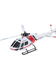 cheap -RC Helicopter WL Toys K123 6CH 6 Axis 2.4G Brushless Electric - Ready-to-go Upside Down Flight Remote Control / RC Flybarless
