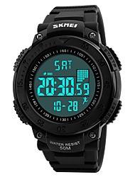 cheap -Skmei® Men's Outdoor Sports Multifunction LED Digital Wrist Watch 50m Waterproof Assorted Colors