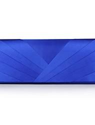 preiswerte -Damen Taschen Polyester Seide Satin Umhängetasche Strass Applikationen Glitter Band Spitze Blumig Rüschen Quaste Kariert Gestuft für