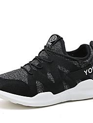 Недорогие -Для женщин Спортивная обувь Удобная обувь Тюль Осень Зима Атлетический Повседневные Для фитнеса Удобная обувь На эластичной лентеНа