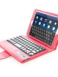 Pour Etuis coque Avec Support Avec Clavier Clapet Coque Intégrale Coque Couleur unie Dur Cuir PU pour Apple iPad Mini 4 iPad Mini 3/2/1