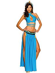 Regina Costumi antico Egitto Cosplay Cleopatra Costumi Cosplay Accessori Halloween Stile Carnevale di Venezia Vestito da Serata Elegante