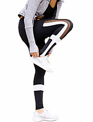 cheap -Women's Running Tights Gym Leggings Fitness, Running & Yoga Quick Dry Sports Tights Bottoms Yoga Camping / Hiking Exercise & Fitness