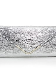 cheap -Women's Bags Polyester / PU Clutch Metallic Silver