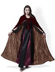 Mago/Bruja Fantasma Vampiros Cosplay Abrigo Disfraces de Cosplay Capa Escoba de Bruja Accesorios de Halloween Ropa de Fiesta Baile de