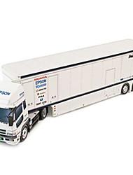 abordables -Coches de juguete Puzzles 3D Maqueta de Papel Camión Juguetes Cuadrado Camioneta Manualidades Papel duro No Especificado Piezas