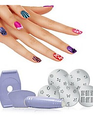 Finger Print Device Express Salon Nail Art Pprint Device Nail Art Device Finger Print Machine Nail Art Stamping Kit