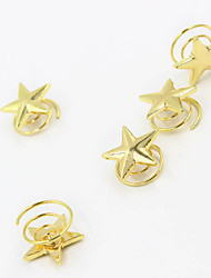 Europe and the United States foreign trade jewelry contracted van Stars spring women's joker hairpin hair A0032