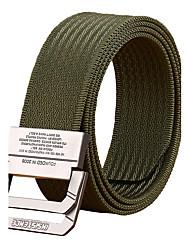 baratos -Masculino Escritório/Negócio Liga Côr Pura Cinto para a Cintura,Sólido