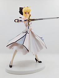 Anime Action-Figuren Inspiriert von Fate/stay night Saber Lily PVC 18 CM Modell Spielzeug Puppe Spielzeug
