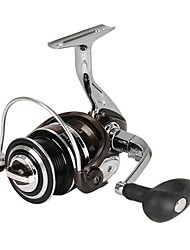 cheap -Fishing Reel Spinning Reel 5.2:1,4.9:1 Gear Ratio+13 Ball Bearings Hand Orientation Exchangable Sea Fishing Bait Casting Ice Fishing